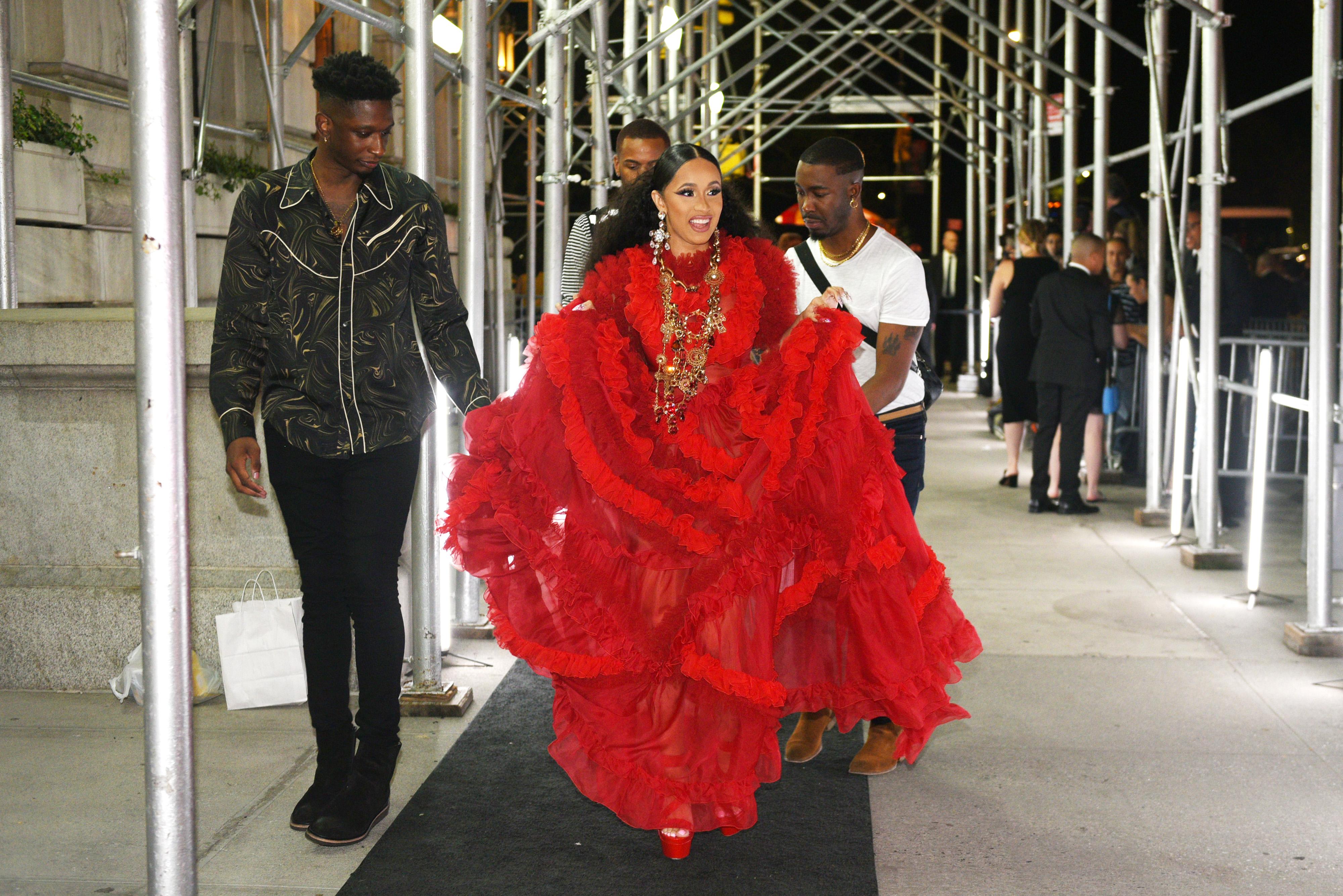 The Nicki Minaj/Cardi B Feud Exploded Into A Full-Out Shoe-Throwing Fashion Week Brawl