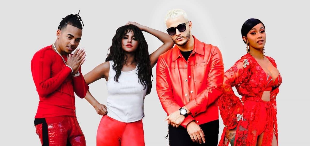 """DJ Snake, Cardi B, Ozuna and Selena Gomez Dance on a Volcano in the """"Taki Taki"""" Video"""