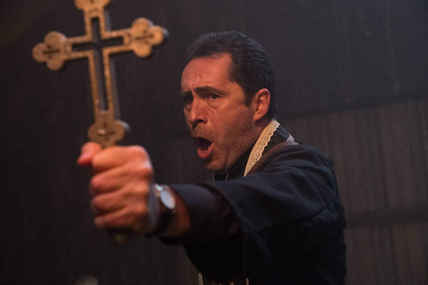 Demián Bichir On Playing a Priest in Creepy Horror Flick 'The Nun'