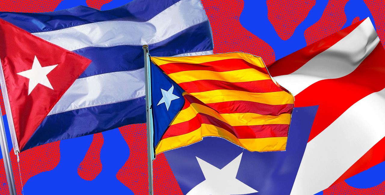 Cuba and Puerto Rico's Fight For Independence Inspired Catalonia's Flag