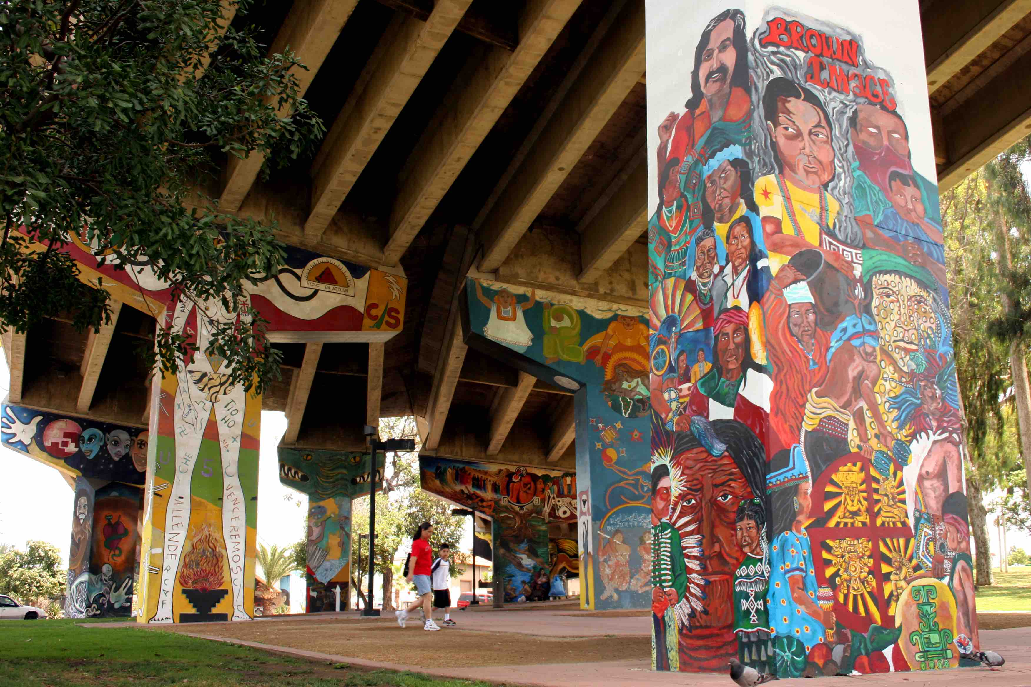 Here Are the Stories Behind 10 Murals in San Diego's Chicano Park