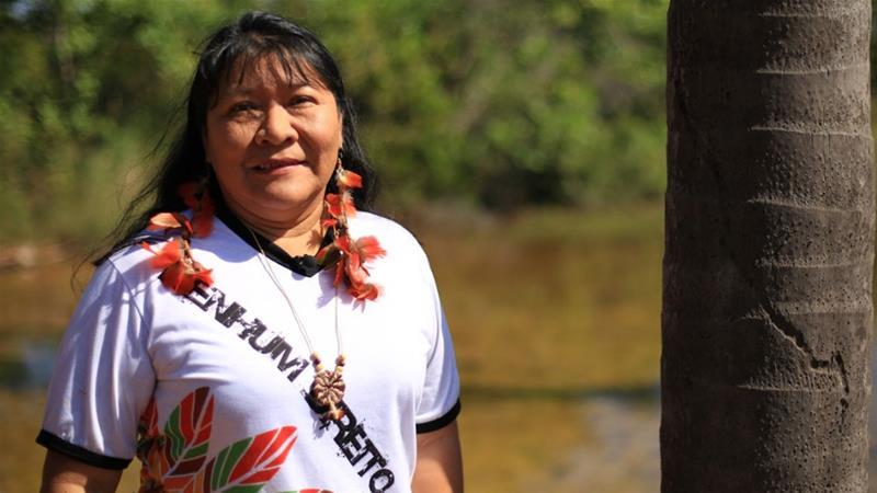 Brazil's First-Ever Indigenous Congresswoman, Joênia Wapichana, is Warrior for Indigenous Rights