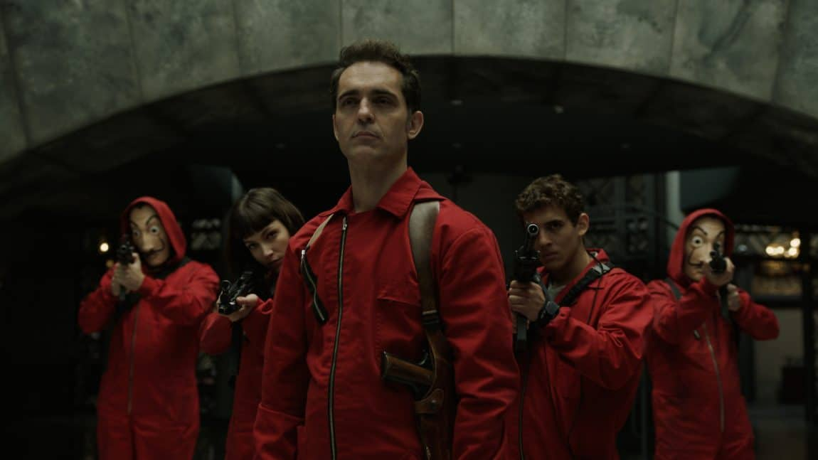 Netflix Spanish Series 'La casa de papel' Is Filming Season 3