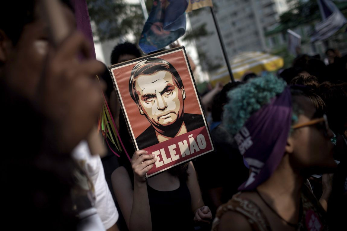 Brazilians protest against Bolsonaro, demand he respects democracy