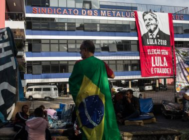 "Noam Chomsky on Lula: He Is ""Kept in Isolation So That the 'Soft Coup' in Brazil Can Proceed"""