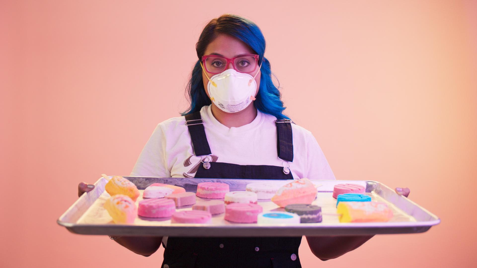 Meet Yamira Venegas, the Entrepreneur Behind the Internet's Favorite Concha Bath Bombs