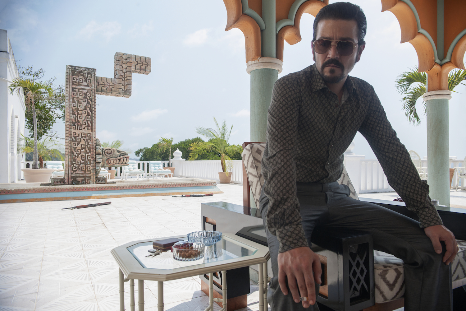 TRAILER: Diego Luna Builds a Drug Empire in 1980s-Set 'Narcos: Mexico'