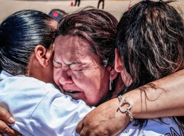 In This Emotional Short Doc, Families Divided by the Border Get 3 Minutes to Hug