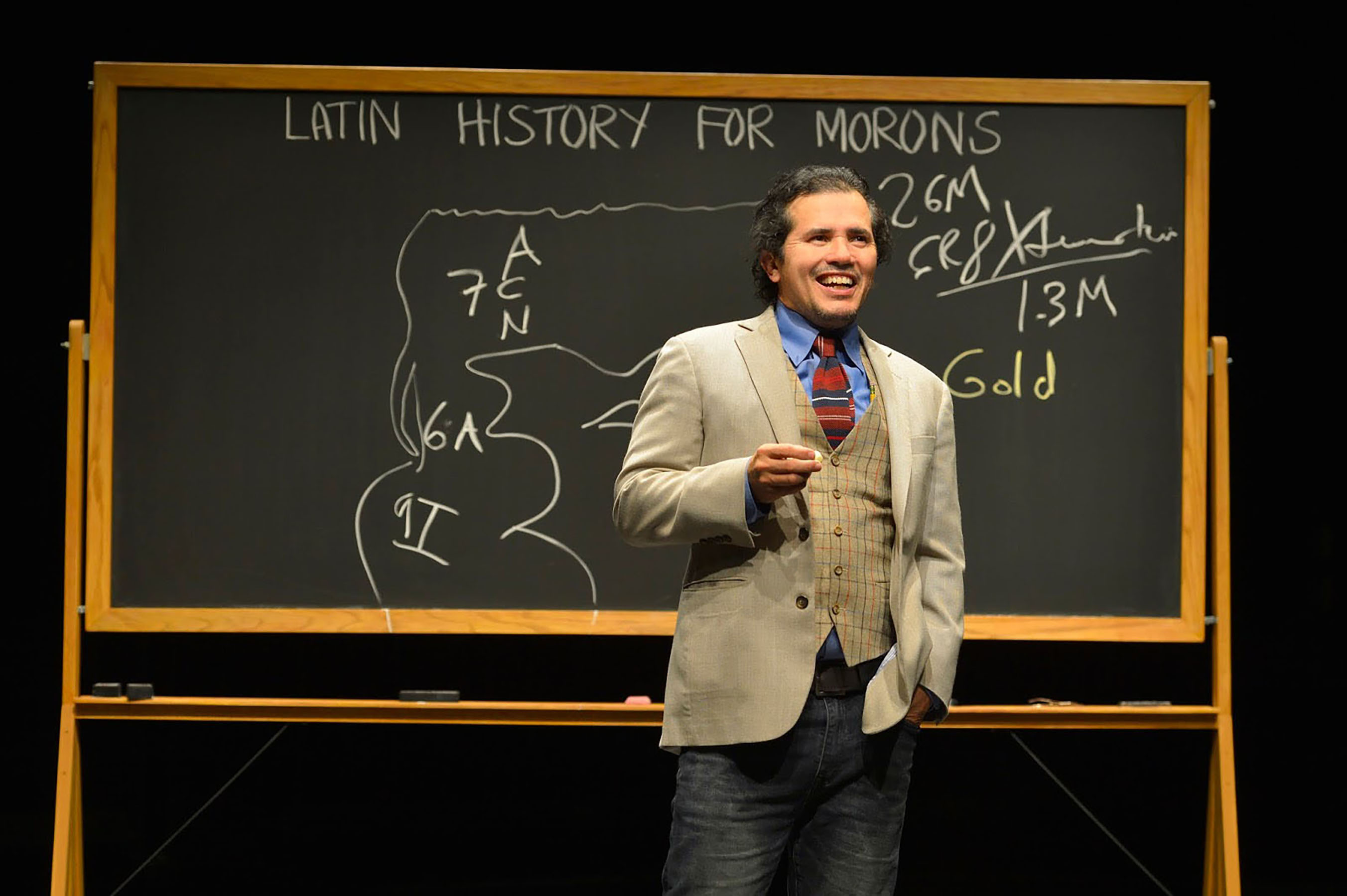 CLIP: This Doc Takes You Behind the Scenes of John Leguizamo's Broadway Show 'Latin History for Morons'