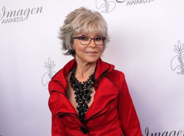 We're Finally Getting a Rita Moreno Documentary & It's Being Executive Produced By Lin-Manuel Miranda