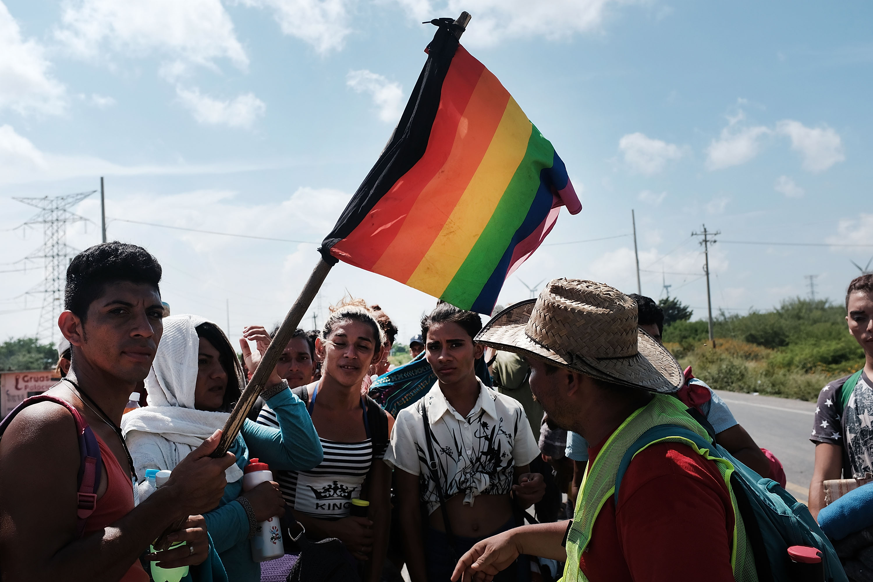 Here's How You Can Help One of the Caravan's Most Vulnerable Groups, the LGBTQ Community
