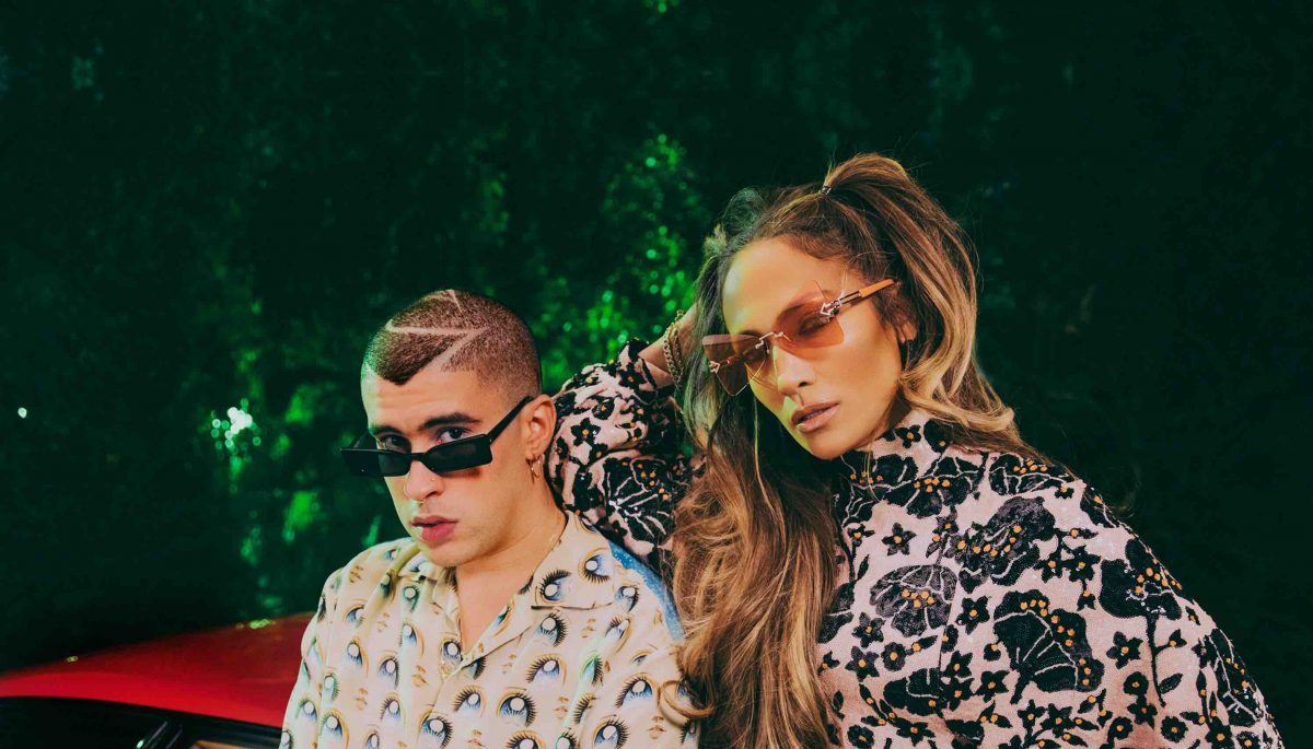 """Jennifer Lopez and Bad Bunny's Flirtatious New Collab """"Te Guste"""" Is Here"""