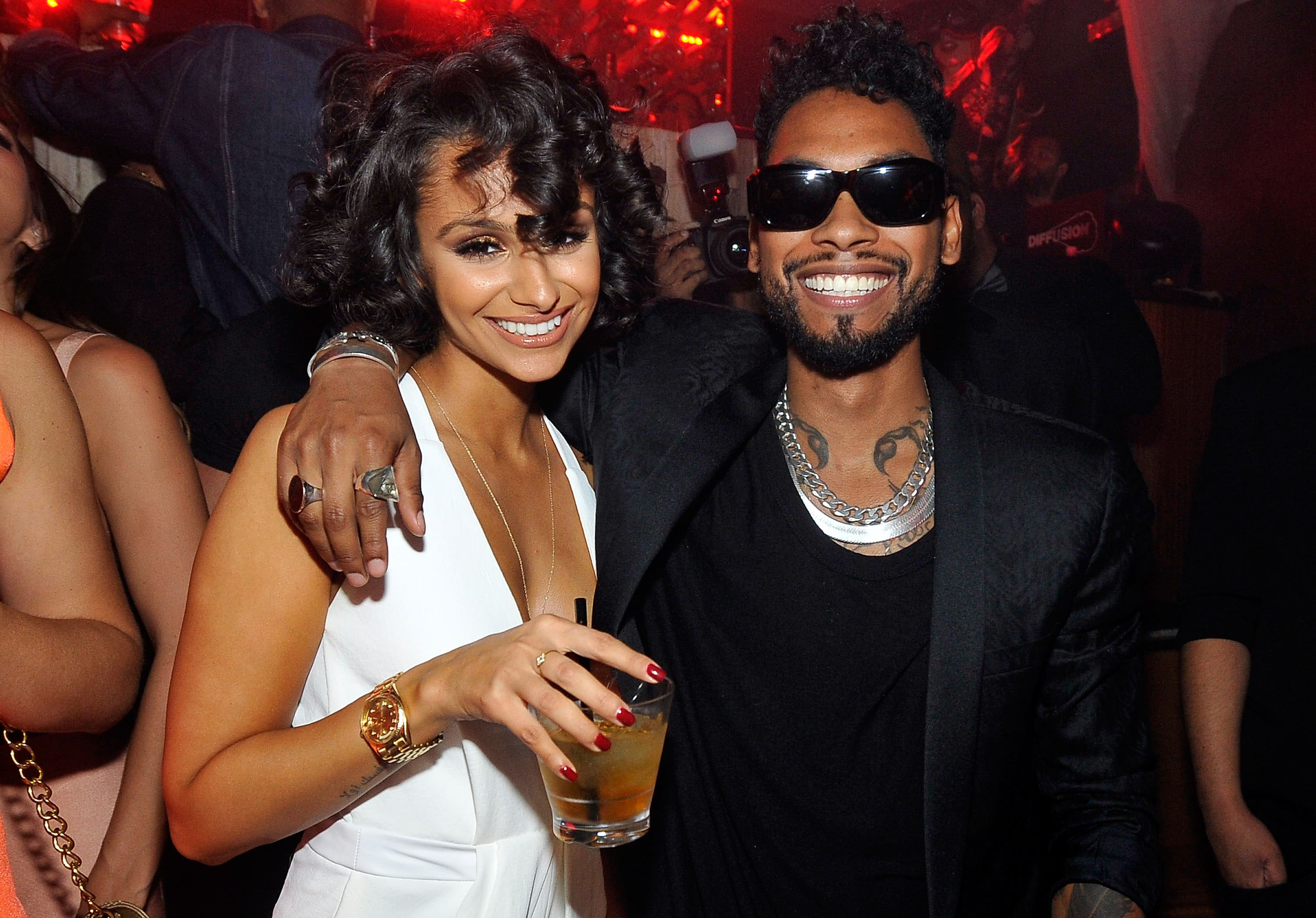 Miguel and Nazanin Mandi's Wedding Had a Mexican Dinner & In-N-Out Burger Truck