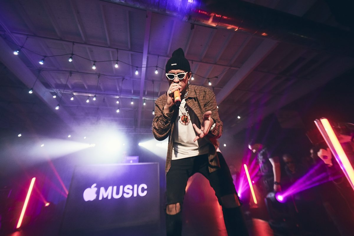 Bad Bunny Becomes Apple Music's Most Streamed Latino Artist