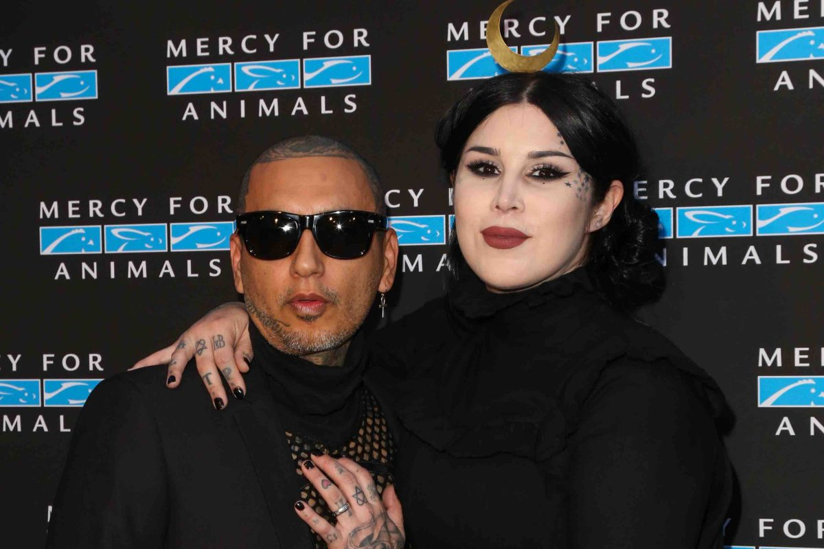 Kat Von D and Leafer Seyer's Cholo Goth Baby Has Arrived