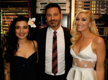"""Mon Laferte Sang """"Feliz Navidad"""" in a Duet with Gwen Stefani on 'Jimmy Kimmel Live!'"""