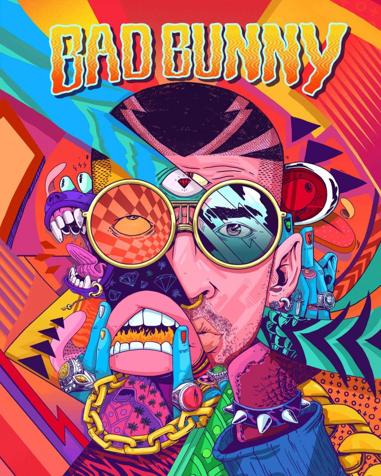 Meet The Illustrator Who Inadvertently Spawned Bad Bunny S Third Eye