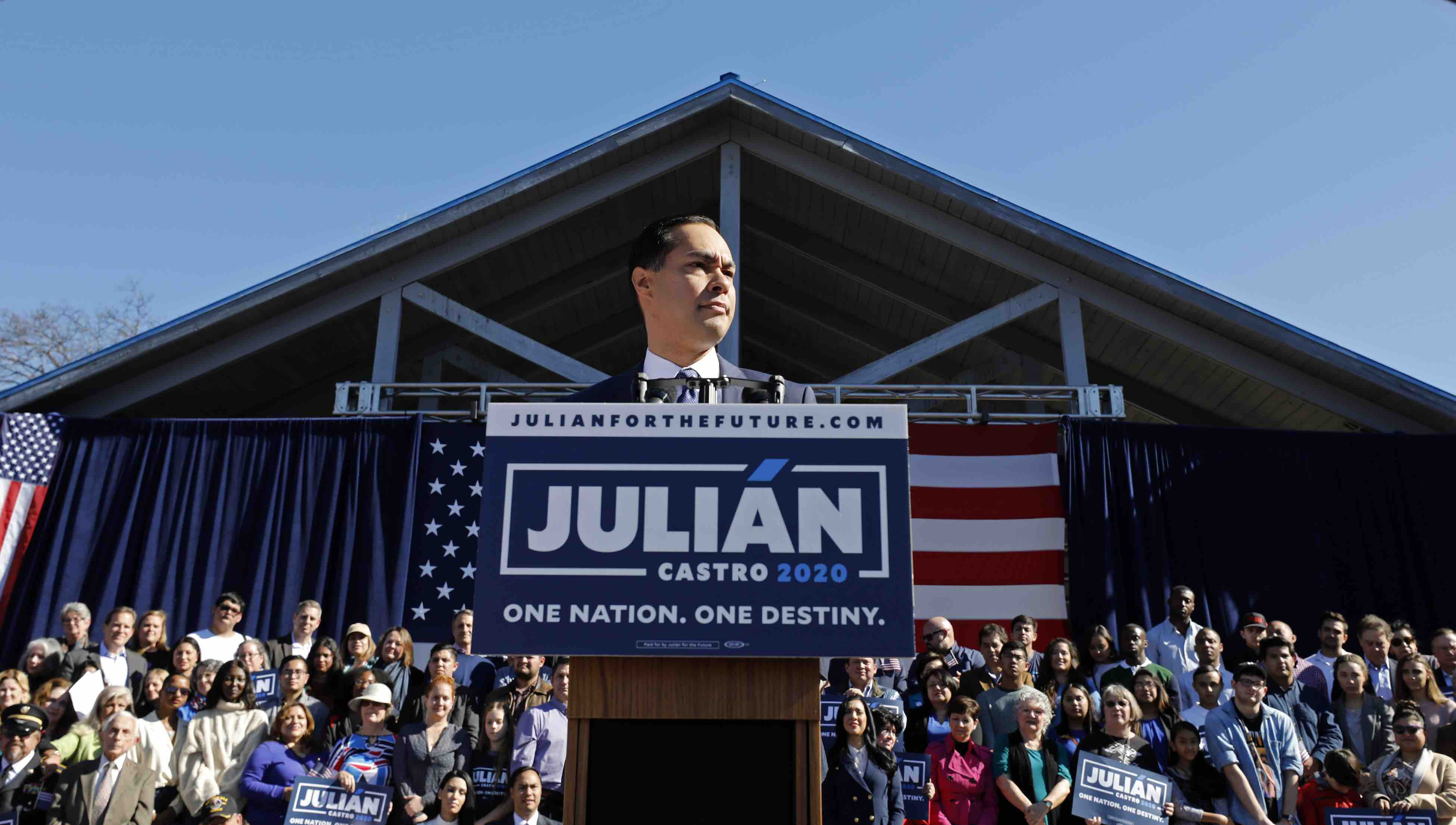 """Presidential Candidate Julián Castro Meets Campaign Goal: """"We're Not Going Anywhere"""""""