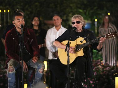 "Ozuna & José Feliciano Deliver Unexpectedly Touching Cover of ""En Mi Viejo San Juan"" on 'Tonight Show'"