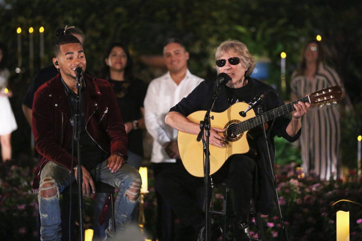 "Ozuna & José Feliciano Deliver Unexpectedly Touching Cover of ""En Mi Viejo San Juan"" on 'Tonight Show'"