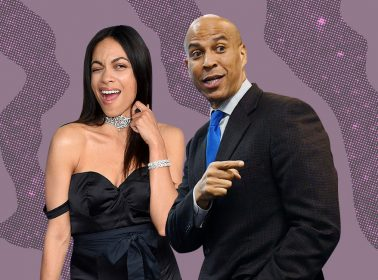 After Months of Speculation, Rosario Dawson Confirms She and Cory Booker Are In Love