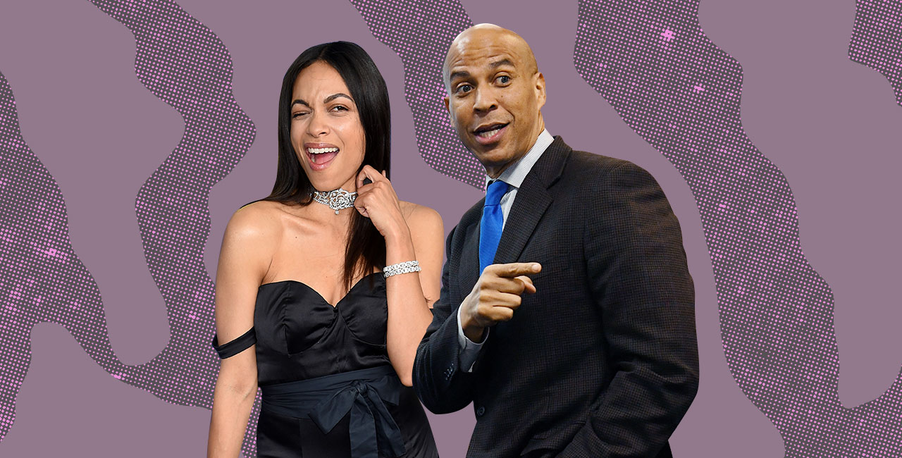 Rosario Dawson & Cory Booker Hung Out and Now People Want Them to Get Married