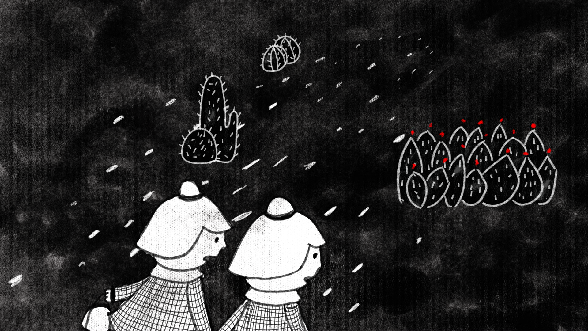 You Should Stream: This Hand-Drawn Animated Short Is a Childlike But Powerful Look at Crossing the Border
