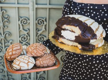 This Gigantic Concha Ice Cream Sandwich Needs to Get in Your Belly Right Now