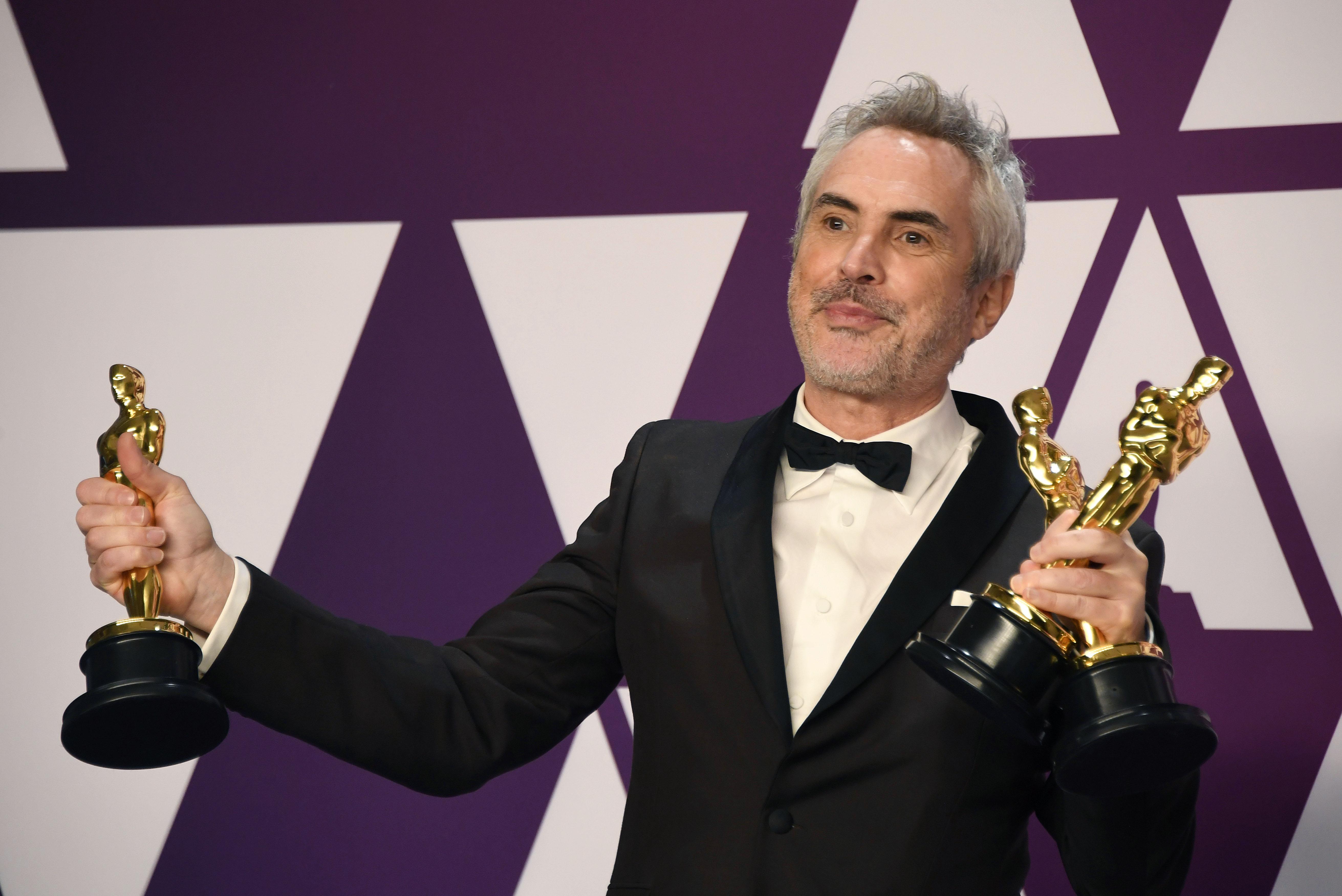 Alfonso Cuarón Made History at the 2019 Oscars