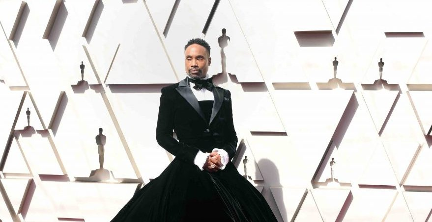 Billy Porter's Oscars Tuxedo Gown Was Inspired by Puerto Rican Ballroom Icon Hector Xtravaganza