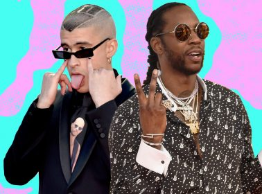 Bad Bunny Smoked Hookah at a Miami Nightclub With Lil Wayne and 2 Chainz