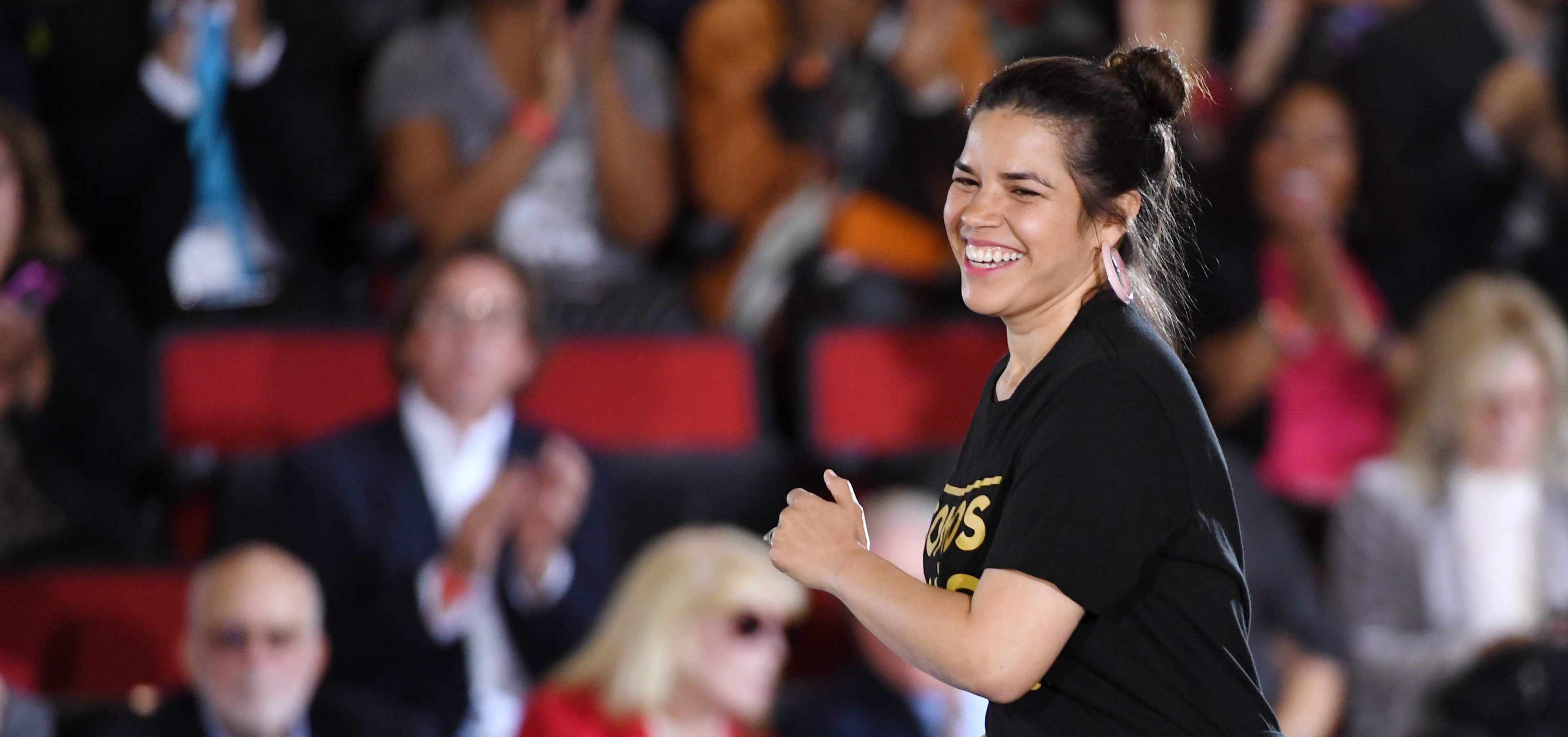 America Ferrera Brought a Group of Actors to Visit Immigrant Shelters in Tijuana