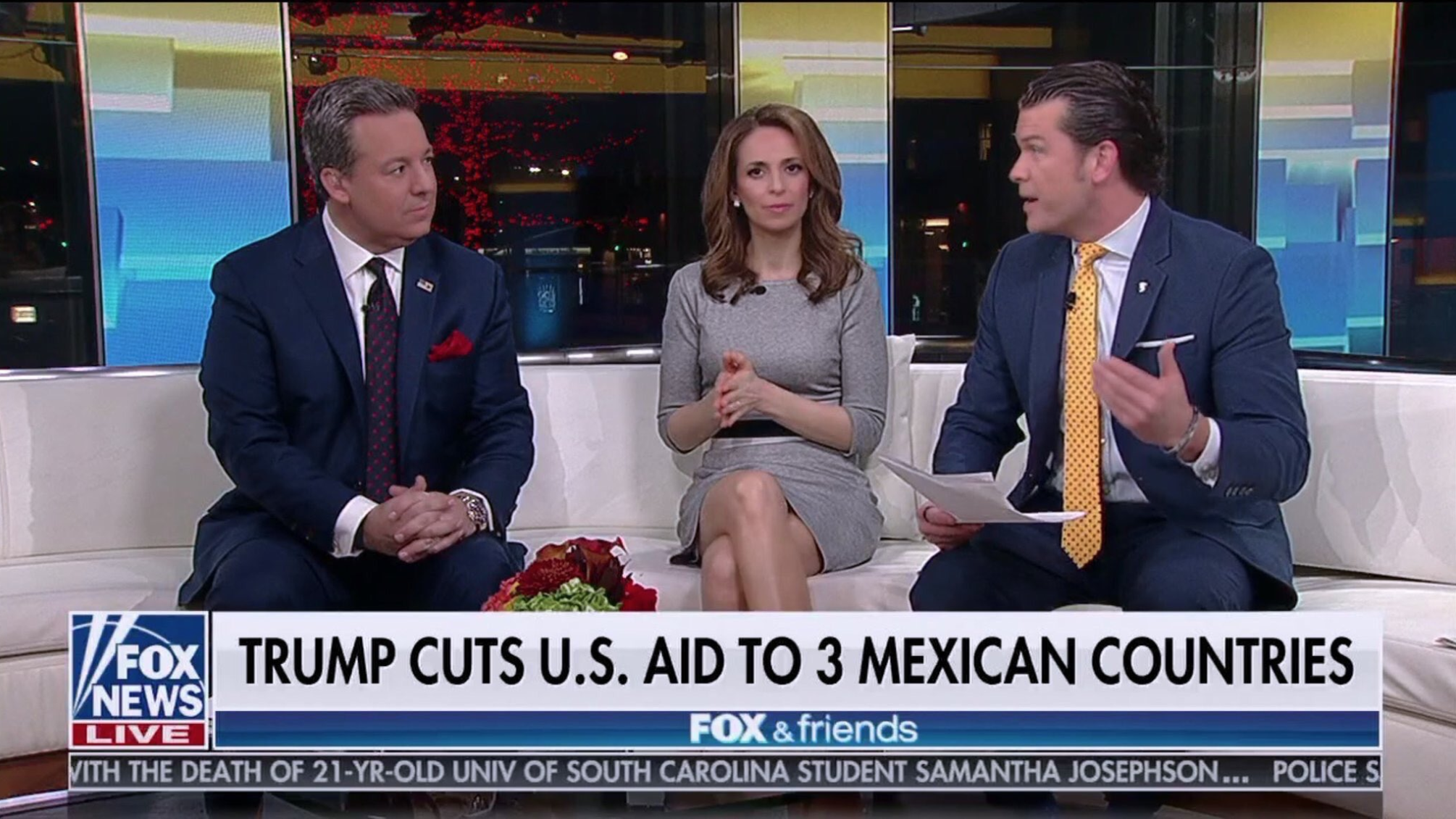 """'Fox & Friends' Ridiculed After Describing Central American Nations as """"3 Mexican Countries"""""""