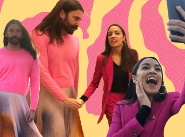 AOC & 'Queer Eye's JVN Walking Hand-in-Hand on Capitol Hill Is the Content We All Need