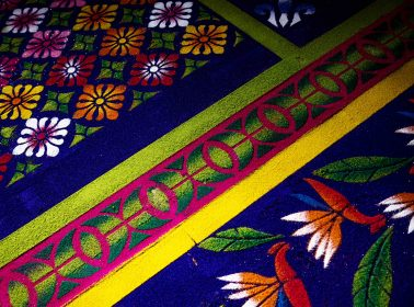 Every Semana Santa, Guatemalans Decorate Their Streets With Colorful & Intricate Sawdust Carpets