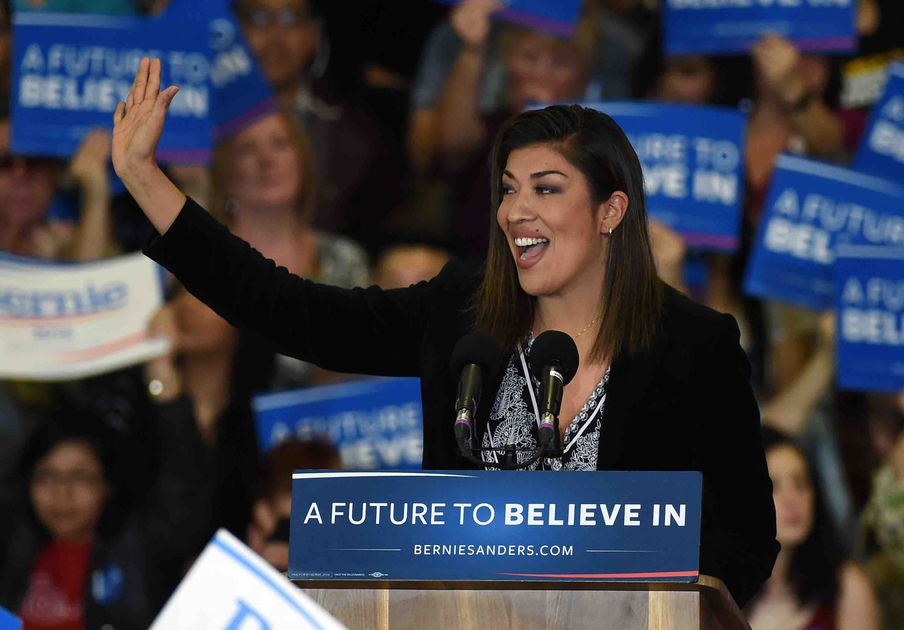Nevada Politician Lucy Flores Speaks Out About Joe Biden's Inappropriate Behavior