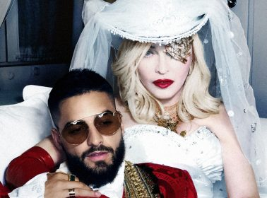 "Madonna Licked Maluma's Toes in the ""Medellín"" Video, So It's Even More Extra Than We Feared"