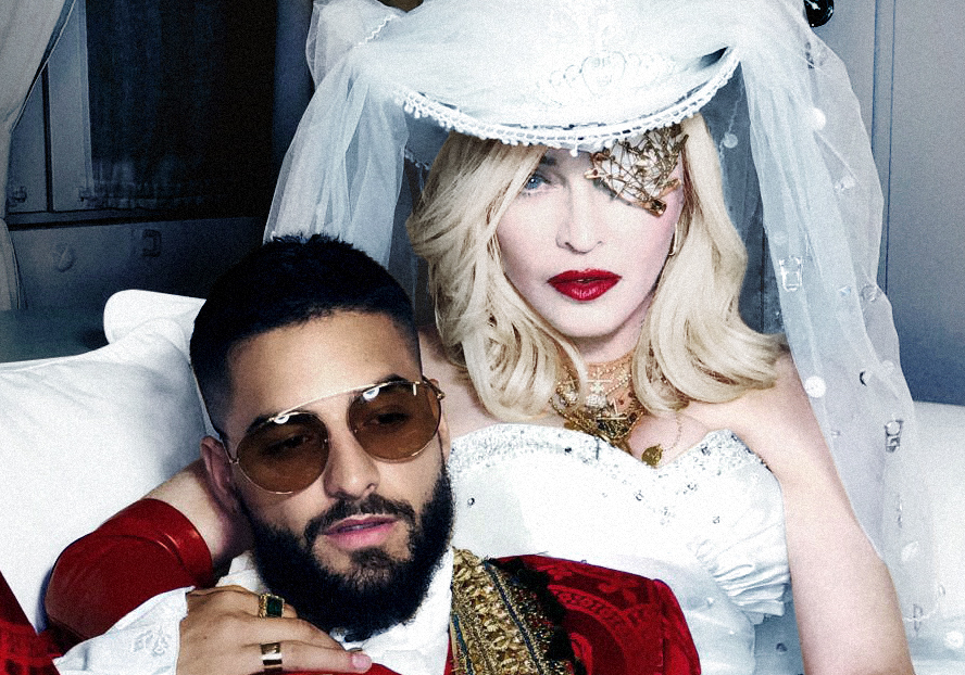 """Madonna Licked Maluma's Toes in the """"Medellín"""" Video, So It's Even More Extra Than We Feared"""