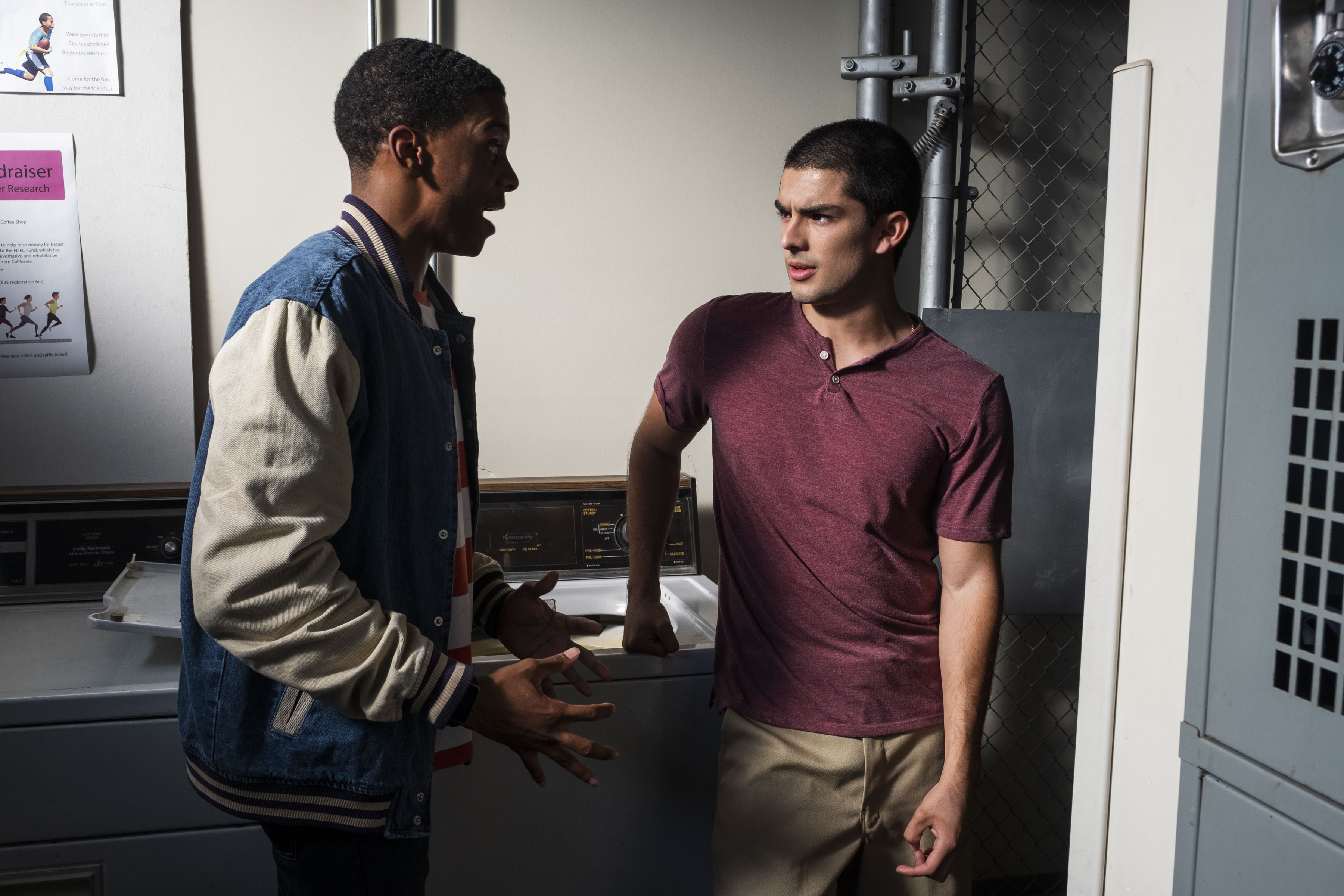 "'On My Block's Diego Tinoco On Cesar's Guilty Conscience & His ""Odd Couple"" Friendship With Jamal"