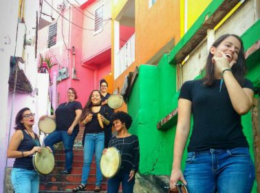In Puerto Rico, A New Generation of Women's Plena Groups Are Raising Their Voices