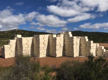 Make America Grate Again: Artist Creates a Cotija Cheese Wall to Satirize Border Wall