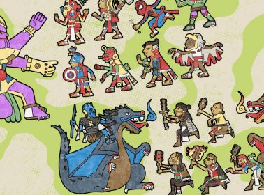 This Artist's Aztec-Style Illustrations of 'Game of Thrones' & 'Avengers' Are Amazing