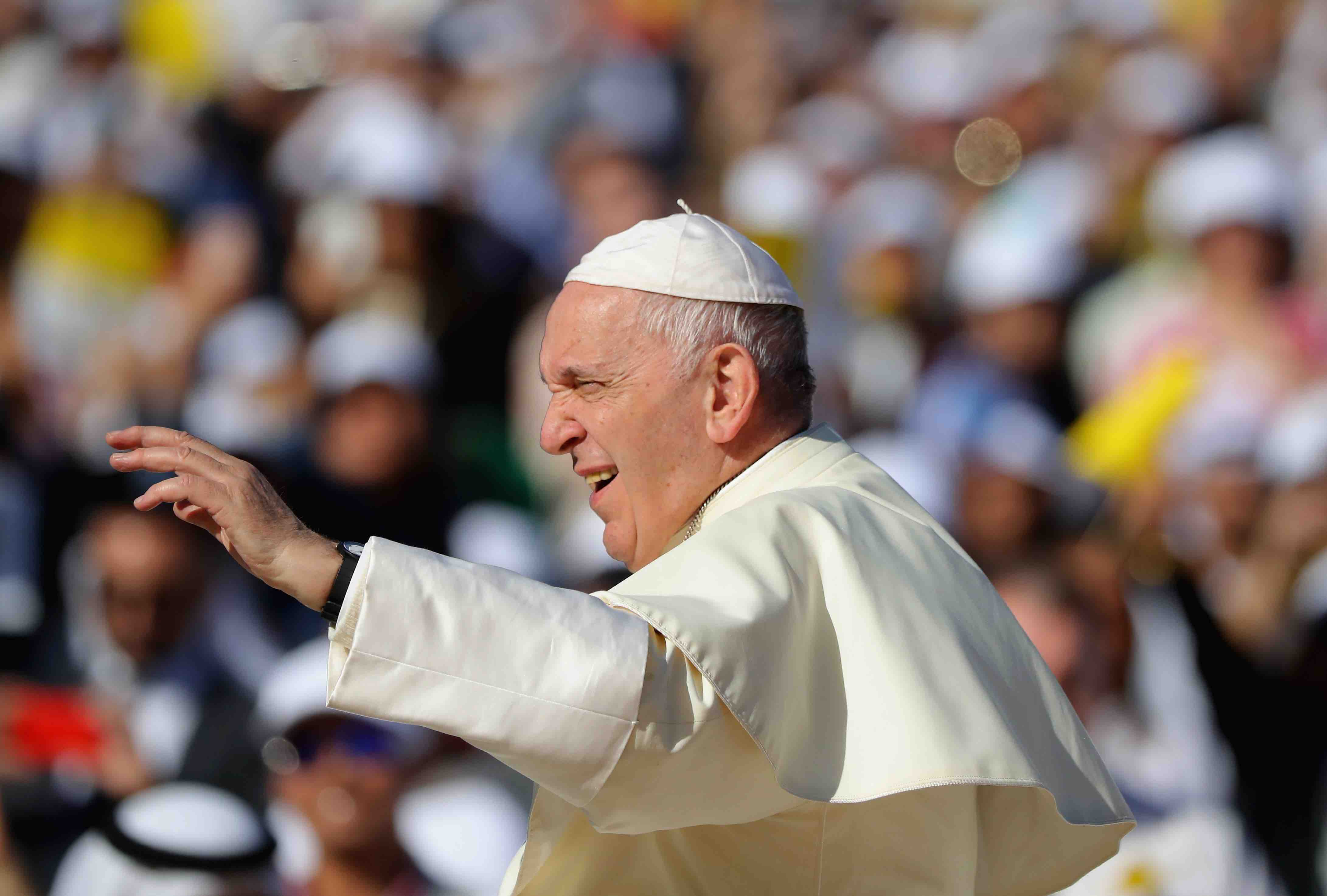 Pope Francis Says Mexico Is Being Punished by the Devil