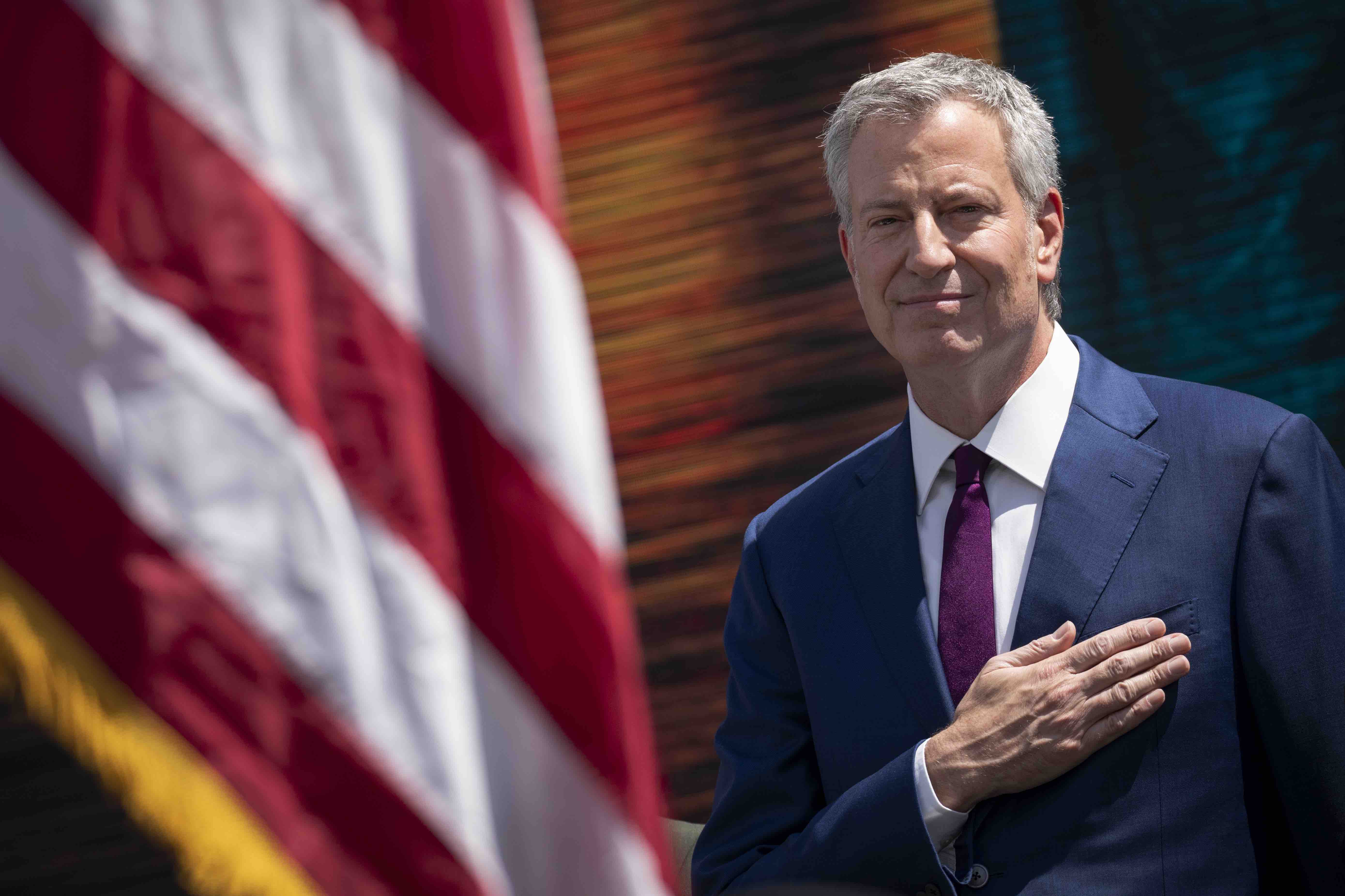 Why Latinos Are Clowning Bill de Blasio's New Nickname For Trump