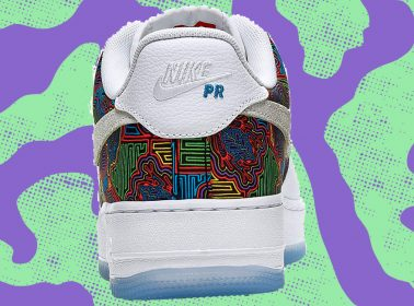 Nike Apologizes For Using Indigenous Panamanian Design for Puerto Rico Air Force 1s