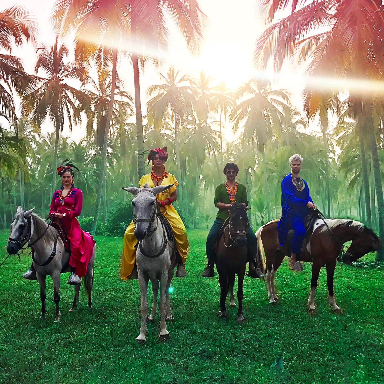 "Bomba Estéreo Join Sofi Tukker for Hedonistic Summer Anthem ""Playa Grande"""