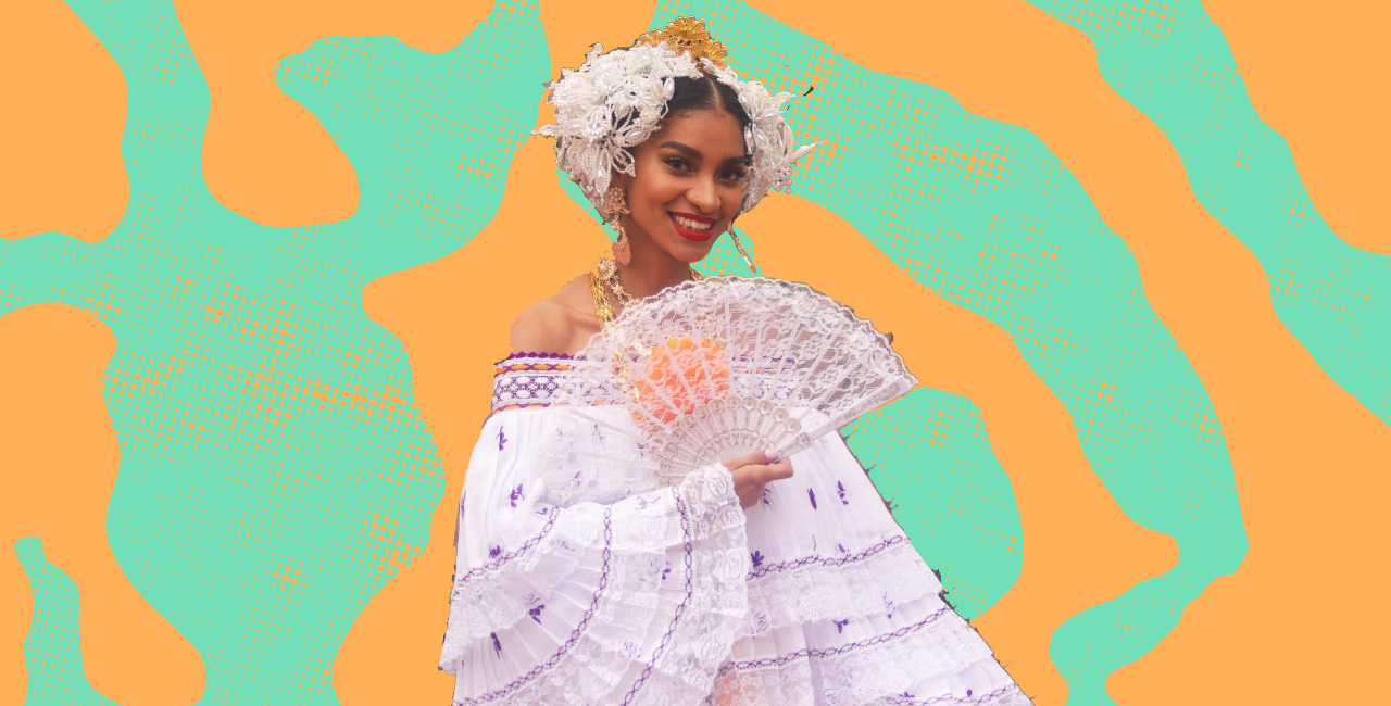 With Her Beautiful Pollera, This Afro-Latina's Grad Photos Paid Tribute to Panama