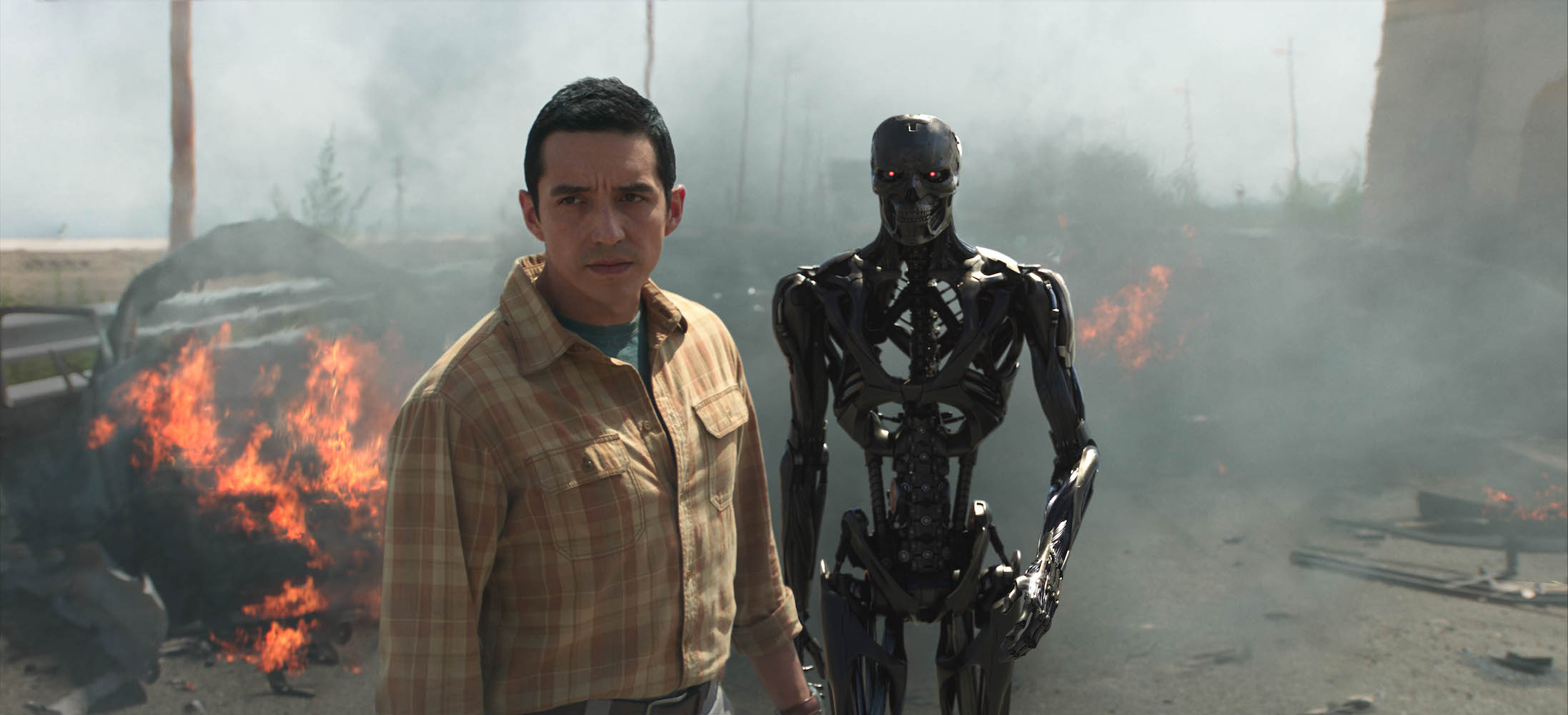 TRAILER: Here's Your First Look at Gabriel Luna as a Liquid Metal Android in 'Terminator: Dark Fate'