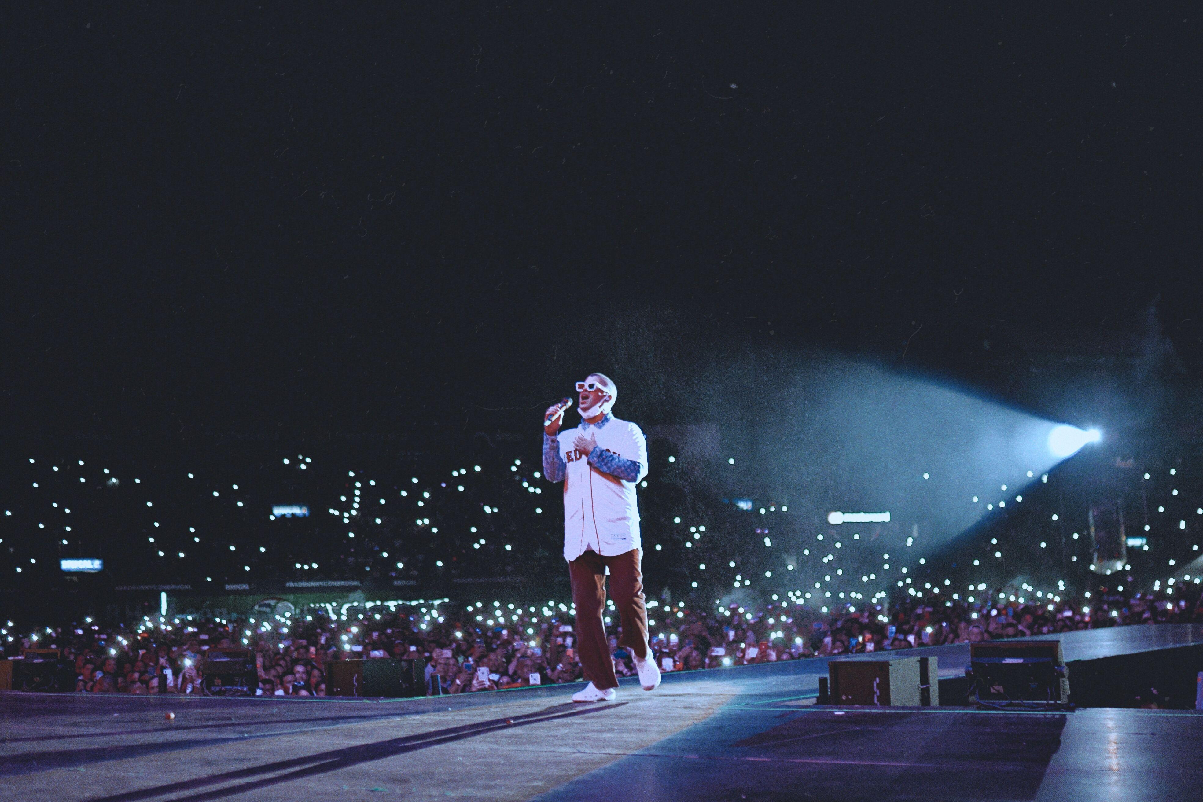 Bad Bunny Paid Tribute to Big Papi at Historic Santo Domingo Concert