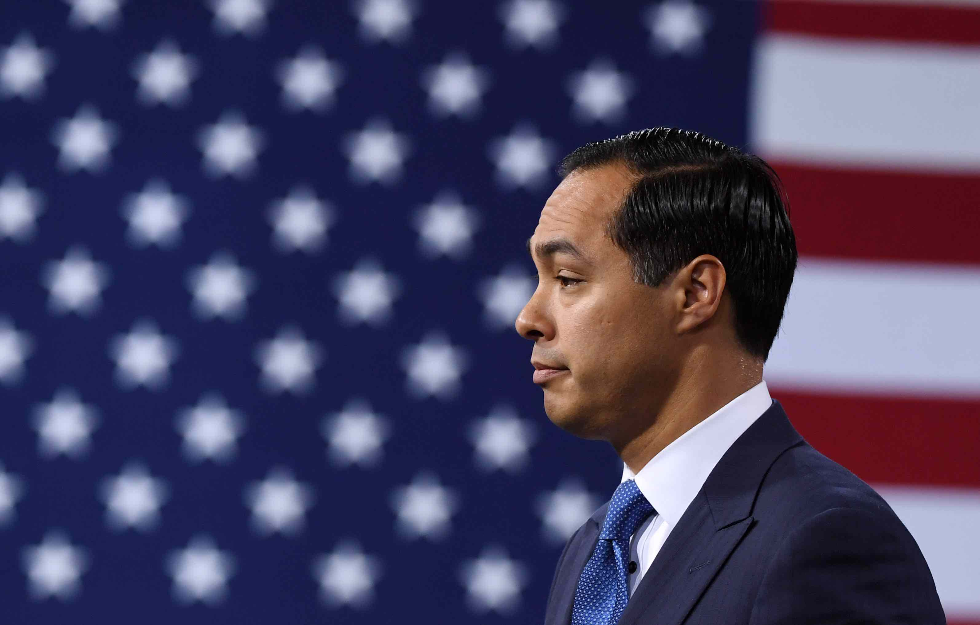 "Following Memorable Debate Moment, Julián Castro Now Sells ""Adiós Trump"" Merch"